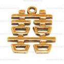 Amulet 50 symbol szczęścia podwójjnego