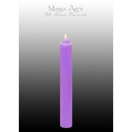 Świeca z wosku - fioletowa 9 x 1,2 cm