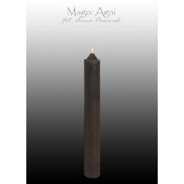Świeca z wosku - czarna 9 x 1,2 cm