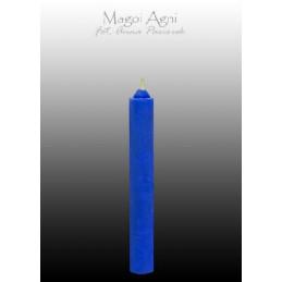 Świeca z wosku - niebieska 9 x 1,2 cm
