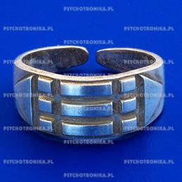 Pierścień atlantów - srebrny