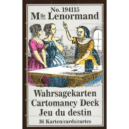 Karty do wróżenia mlle lenormand