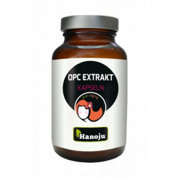 OPC ekstrakt z pestek winogron (90 kapsułek wegetariańskich) Hanoju