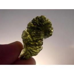 Mołdawit - kamień naturalny 12 x 7 mm