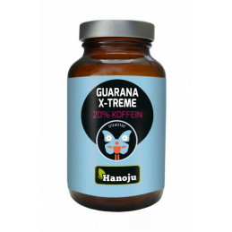 Guarana Xtreme z 10 % kofeiny (90 tabletek) Hanoju