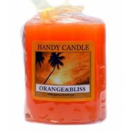 Świeca zapachowa Handy candle Orange & Bliss,wys. 5 cm,średnica 4,5 cm