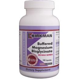 Buffered Magnesium Bisglycinate (Hypoallergenic) 180kaps. Kirkman