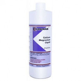 Calcium magnesium Liquid - 473ml Kirkman