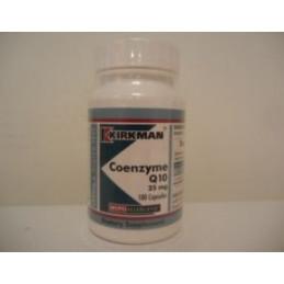Coenzyme Q 10 25mg (Hypoallergenic) 100 kaps. Kirkman