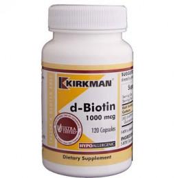 D - Biotyn 1000 mcg Hypoallergenic 120 kaps. Kirkman