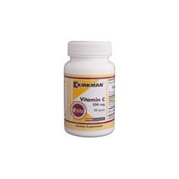 Vitamin C 250mg (Hypoallergenic) 100 kaps.-witamina C Kirkman