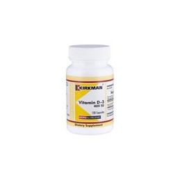 Vitamin D-3 400 IU (Hypoallergenic) 120 kaps. Kirkman