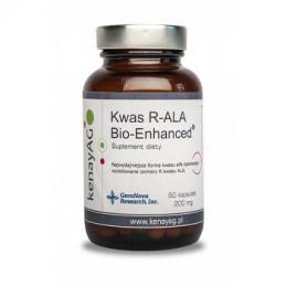 Kwas R-ALA Bio-Enhanced aktywna forma kwasu liponowego 60 kaps KENAY AG