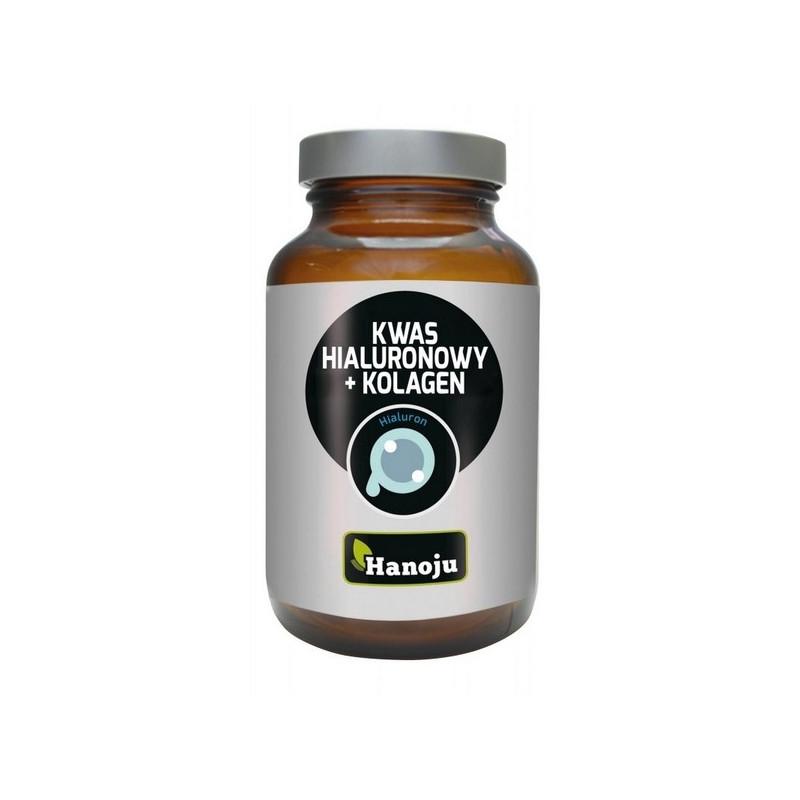 Kwas hialuronowy + Kolagen / Nutrikosmetyk (60 kapsułek) Hanoju