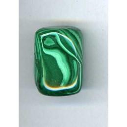 Malachit kamień bębnowany 3 x 2,5 cm