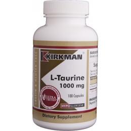 L-Taurine 1000mg (Hypoallergenic) 100 kaps. Kirkman