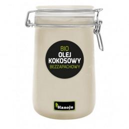 BIO Olej kokosowy bezzapachowy (1000 ml) HANOJU