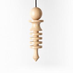Wahadło Izis drewniane duże wys. 10,5 cm