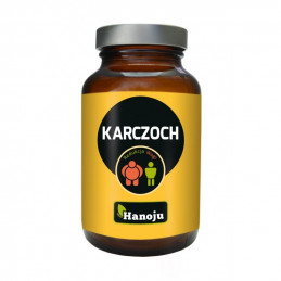 Karczoch 500 mg (90 kapsułek wegetariańskich) Hanoju