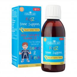 Kidz Bone Support / Wsparcie dla kości - Suplement dla dzieci od 6 roku (150ml) Nature's Aid (03.2018)