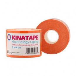 KINATAPE Kinesio Taping (5m x 5cm) pomarańczowa
