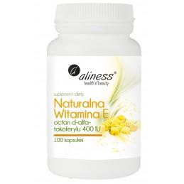 Naturalna witamina E (100 kapsułek) Aliness