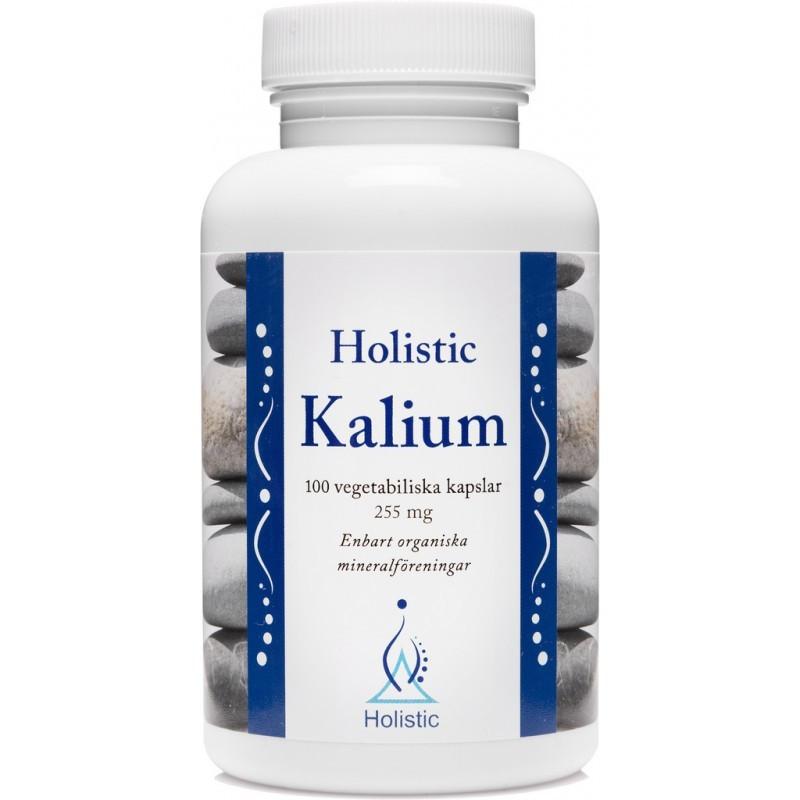 Holistic Kalium Potas / Organiczne związki potasu (100 kapsułek)