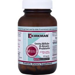 Lacto/Bifido 8-Strain Probiotic (Hypoallergenic) - 60 kaps Kirkman
