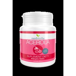 Acerola w proszku - naturalna witamina C (250g) Medverita