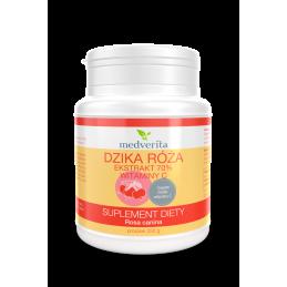 Dzika róża ekstrakt - 70% witaminy C (proszek 250g) Medverita