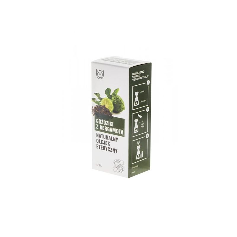 GOŹDZIKI z Bergamotą - Naturalny olejek eteryczny (12ml)