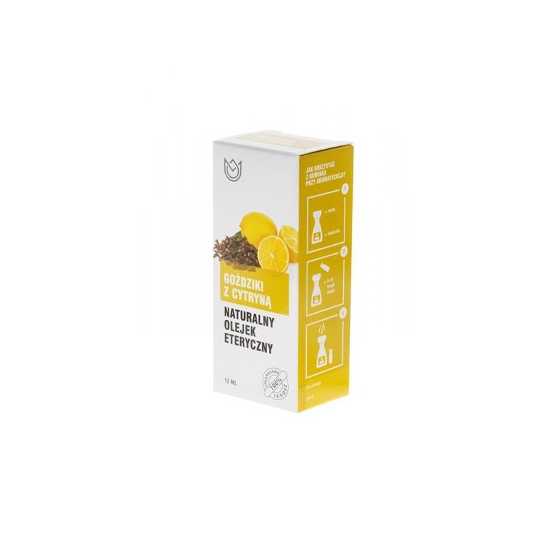 GOŹDZIKI z Cytryną - Naturalny olejek eteryczny (12ml)