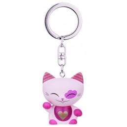 Brelok MANI the lucky CAT / Różowy kotek na szczęście (MLCK048)