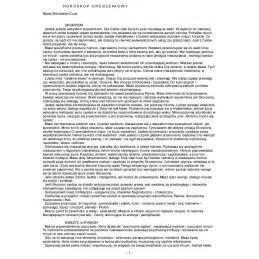 Horoskop urodzeniowy-opis drukowany