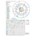 Horoskop porównawczy- wykres elektroniczny