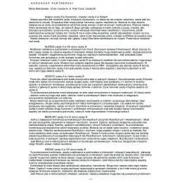 Horoskop porównawczy-opis drukowany