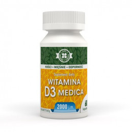 Witamina D3 Medica 2000j.m 60 kaps. A-Z MEDICA