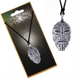 Naszyjnik na sznurku / Maoryska maska MAORI VISIONS