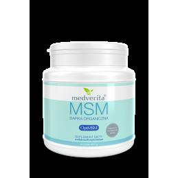 Medverita MSM siarka organiczna OptiMSM® w proszku (400g) Medverita