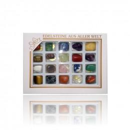 Kolekcja kamieni w blistrze 20 sztuk (zestaw B)