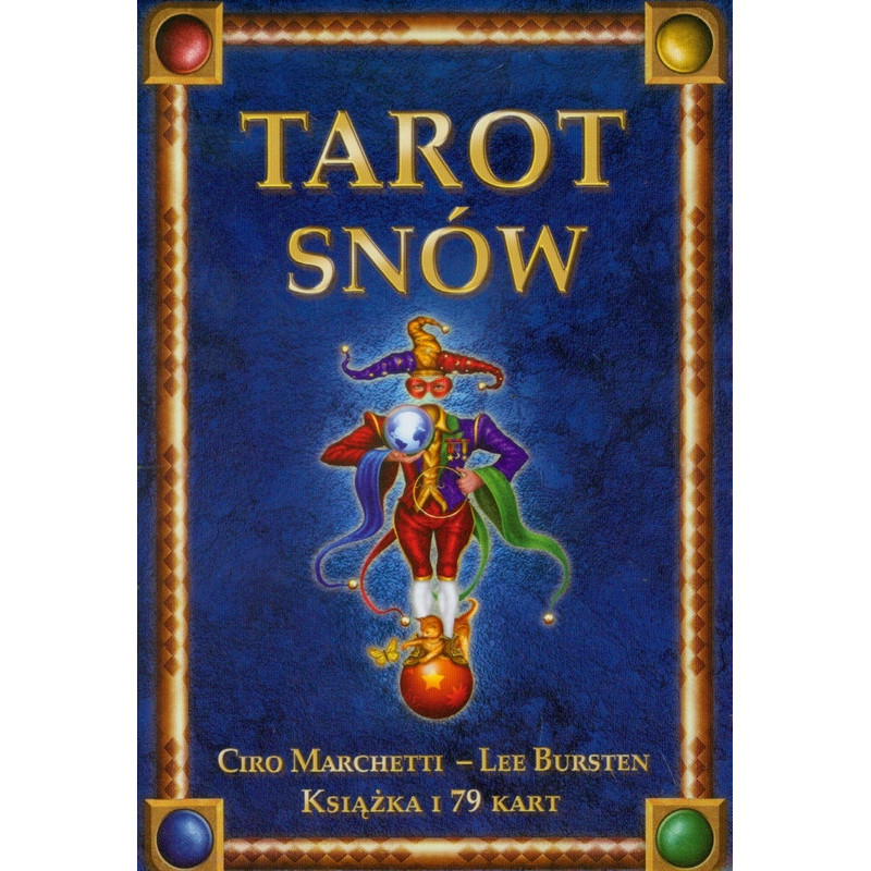 TAROT SNÓW 79 kart + książka