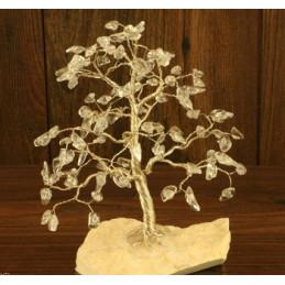 Drzewko szczęścia 100 kamieni kwarc różowy.