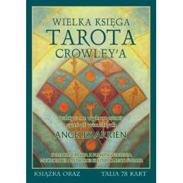 Zestaw WIELKA KSIĘGA TAROTA CROWLEY'a + talia Crowley Tarot