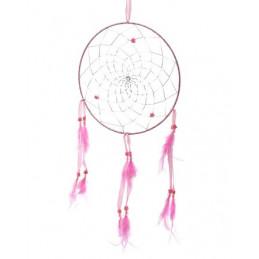 Łapacz snów 20 cm różowy