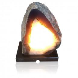 Lampa z Agatu na marmurowej podstawie (3,85 kg)