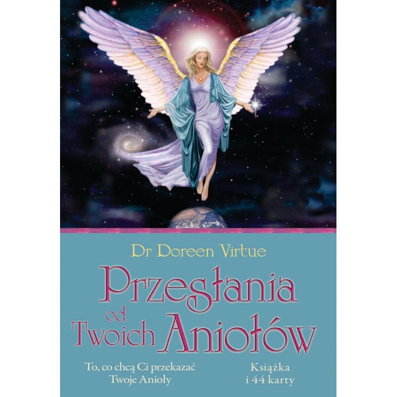 PRZESŁANIA OD TWOICH ANIOŁÓW, dr Doreen Virtue (karty + książeczka)