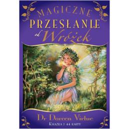 MAGICZNE PRZESŁANIE OD WRÓŻEK, Dr Doreen Virtue, karty + książeczka