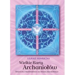 WIELKIE KARTY ARCHANIOŁÓW, Ulrike Hinrichs (karty + książeczka)