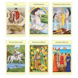TAROT MITYCZNY, Juliet Sharman-Burke & Liz Greene (karty + książka)