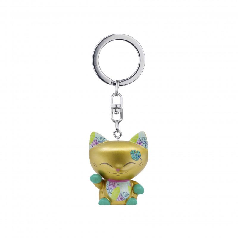 Brelok kotek na szczęście złoty MANI the lucky CAT (MLCK074)